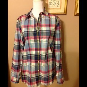 NWOT Chaps long sleeve shirt/blouse